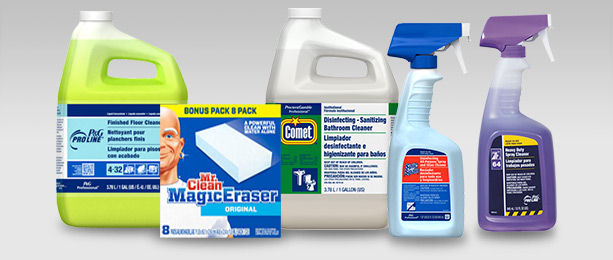 P&G Professional Products for Building Service Contractors